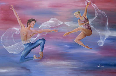 Ballet Painting - Love Of My Life by Music of the Heart