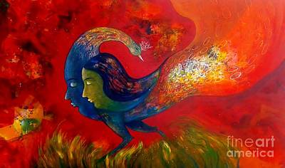 Painting - Love by Sanjay Punekar