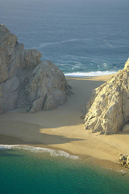 Photograph - Lovers Beach, Cabo San Lucas by Victor Elias