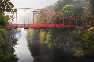Lovers Leap Bridge Print by Bill Wakeley