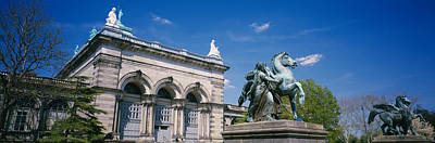 Pegasus Photograph - Low Angle View Of A Statue In Front by Panoramic Images