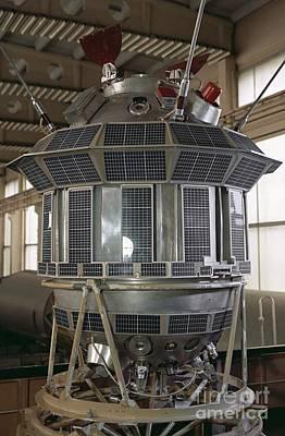 Far Side Photograph - Luna 3 Spacecraft Model by RIA Novosti