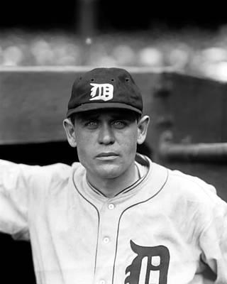 Detroit Tigers Photograph - Luzerne A. Lu Blue by Retro Images Archive