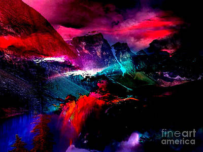 Landscapes Mixed Media - Magical Moments by Marvin Blaine