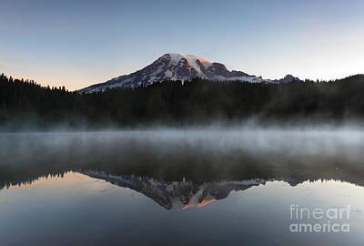 Majestic Dawn Print by Mike Dawson