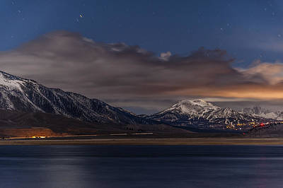 Mammoth Photograph - Mammoth At Night by Cat Connor