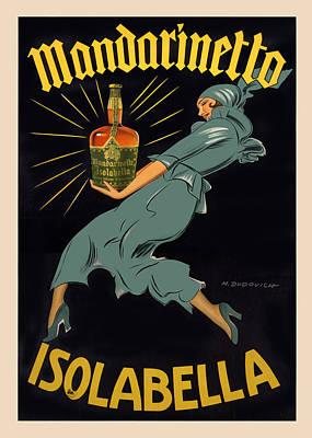 Advertising Digital Art - Mandarinetto by Gary Grayson