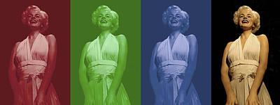 Symbol Digital Art - Marilyn Monroe by Gina Dsgn