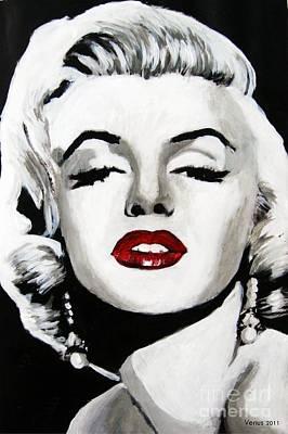 Marilyn Monroe Print by Venus
