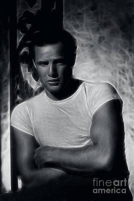 Richard S. Castellano Photograph - Marlon Brando by Doc Braham