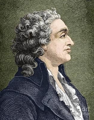 Marquis De Condorcet, French Politician Print by Sheila Terry