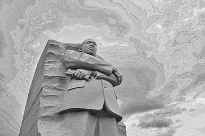 Martin Luther King Jr Memorial Print by Allen Beatty
