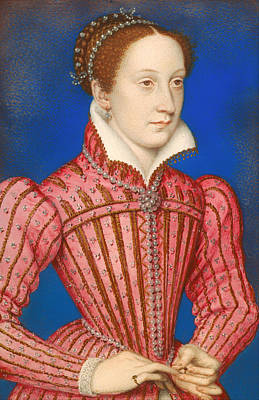 Scots Painting - Mary Queen Of Scots by Mountain Dreams