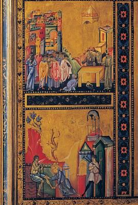 Hagiography Photograph - Master Of The Treasure, St Francis by Everett