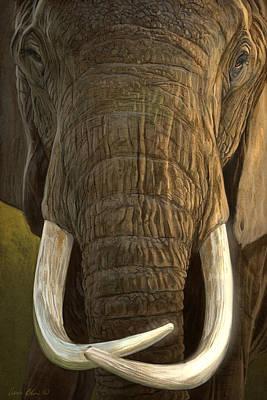 Elephants Digital Art - Matriarch 2 by Aaron Blaise