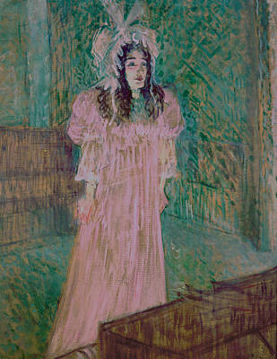Character Portraits Painting - May Belfort by Henri de Toulouse-lautrec