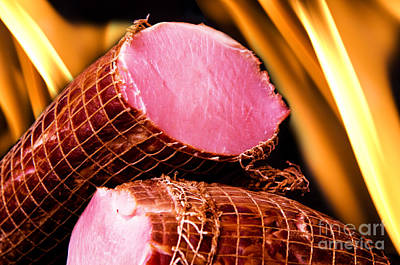 Delicious Photograph - Meat by Michal Bednarek