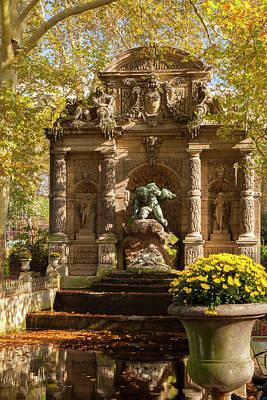 Cyclops Photograph - Medici Fountain Or Fontaine De Medicis by Brian Jannsen