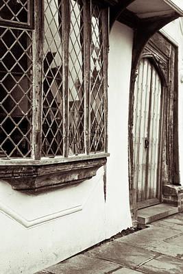 Medieval House Print by Tom Gowanlock