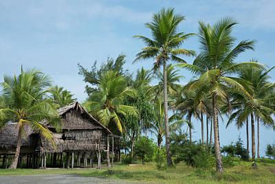 Papua New Guinea Photograph - Melanesia, Papua New Guinea, Sepik by Cindy Miller Hopkins