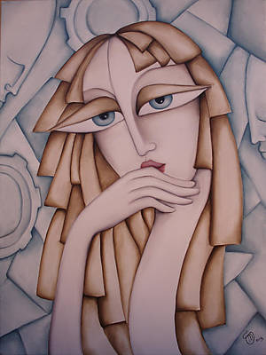 Introspective Painting - Memory by Simona  Mereu