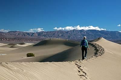 Mesquite Flat Sand Dunes Print by Jim West