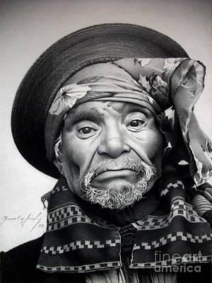 Portraits Drawing - Mexico 1 by Miro Gradinscak