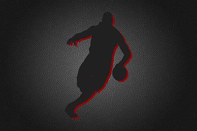 Lebron James Photograph - Miami Heat by Joe Hamilton