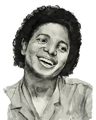 Michael Jackson Drawing - Michael Jackson 7 by Bekim Art