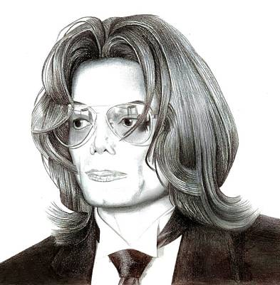 Michael Jackson  Print by Kelz Lewis