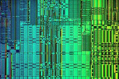 Microprocessor Instruction Decode Unit Print by Antonio Romero