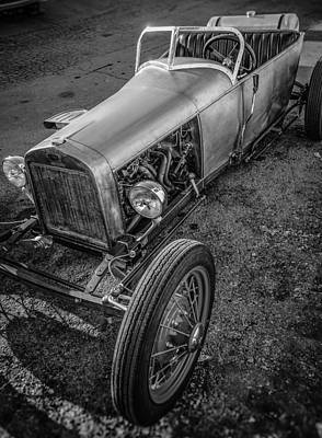 Street Rod Photograph - Millers Chop Shop Track T Toyota by Yo Pedro