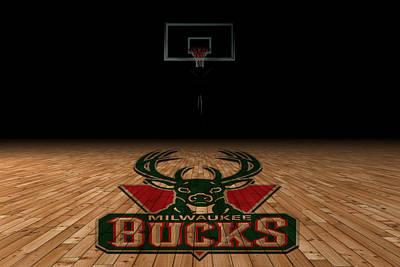 March Photograph - Milwaukee Bucks by Joe Hamilton