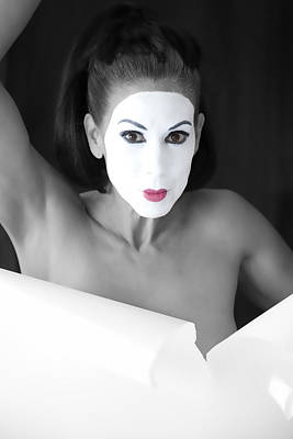 Nude Photograph - Mime by Hugh Smith