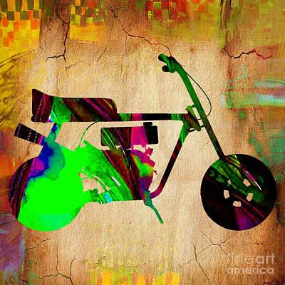 Mini Bike Print by Marvin Blaine