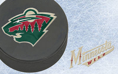 Minnesota Wild Print by Joe Hamilton