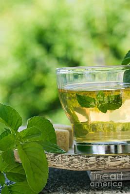 Mint Tea Print by Mythja  Photography