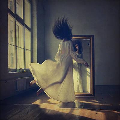 Levitation Photograph - Mirror by Anka Zhuravleva
