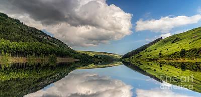 Lakes Digital Art - Mirror Lake by Adrian Evans