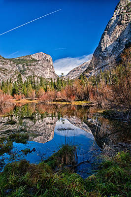 Mirror Lake Print by Cat Connor