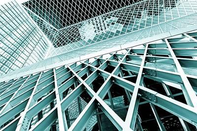 Modern Architecture Print by Wladimir Bulgar