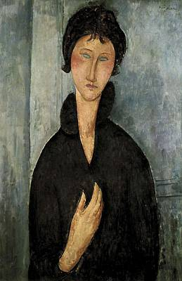 Modigliani, Amedeo 1884-1920. Woman Print by Everett