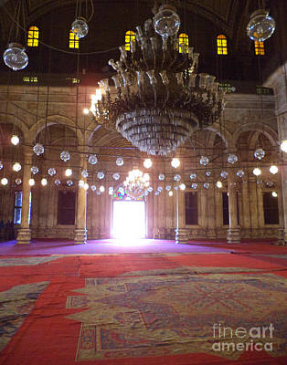 Mohammed Ali Mosque Print by Cimorene Photography