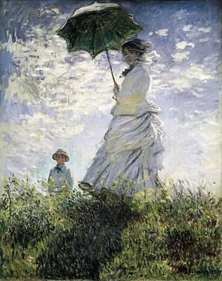 Impressionist Impressionist Photograph - Monet, Claude 1840-1926. Woman by Everett