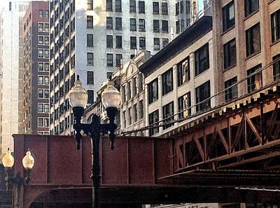 Monroe St. Chicago Original by Jeffrey Bess