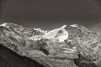 Mont Blanc Group Print by Juergen Klust
