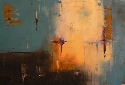 Moody Blue Print by Tia Marie McDermid