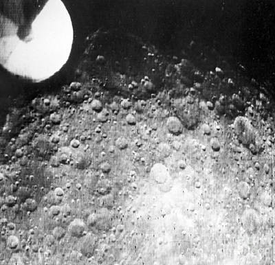 Far Side Photograph - Moons Surface, Zond 3 Image by RIA Novosti