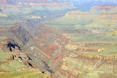 Morning Colors Of The Grand Canyon Inner Gorge Print by Shawn O'Brien