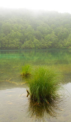 Water Photograph - Morning Lake by Modern Art Prints